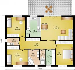 Rodinný domek Lignera 136B