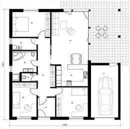 Rodinný domek Lignera 161GT2