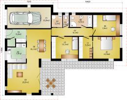 Rodinný domek Lignera 163
