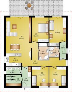 Rodinný domek Lignera 172
